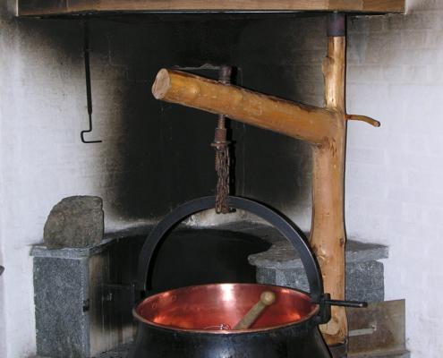 Kochen mit Holz